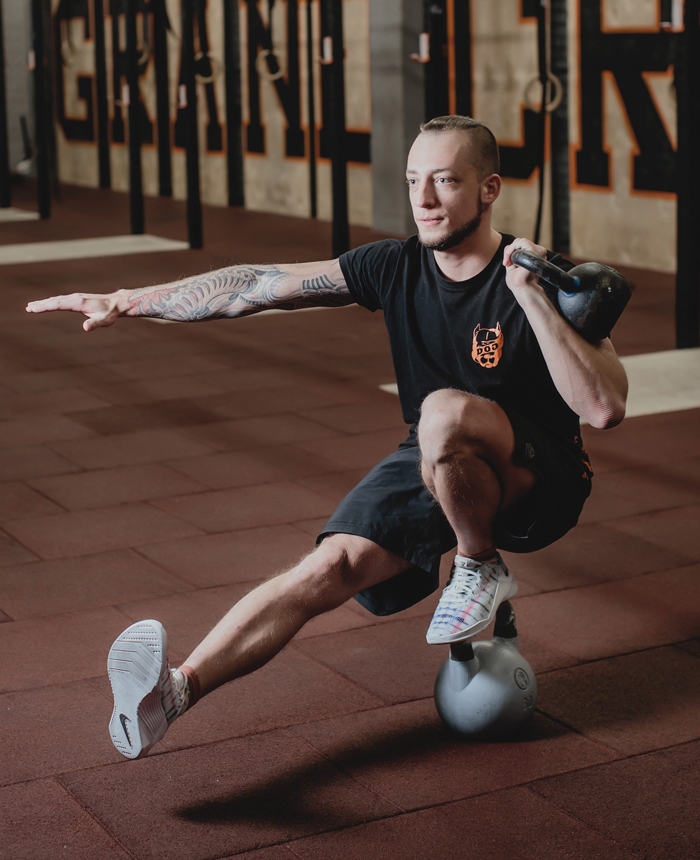 Максим Лях, DOG & Grand CrossFit